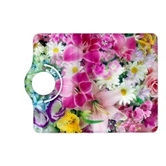 Colorful Flowers Patterns Kindle Fire Hd (2013) Flip 360 Case by BangZart