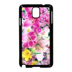 Colorful Flowers Patterns Samsung Galaxy Note 3 Neo Hardshell Case (black)
