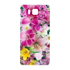Colorful Flowers Patterns Samsung Galaxy Alpha Hardshell Back Case