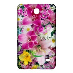 Colorful Flowers Patterns Samsung Galaxy Tab 4 (7 ) Hardshell Case  by BangZart