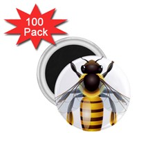 Bee 1 75  Magnets (100 Pack)  by BangZart