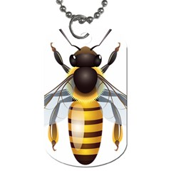 Bee Dog Tag (one Side) by BangZart