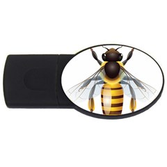 Bee Usb Flash Drive Oval (4 Gb) by BangZart