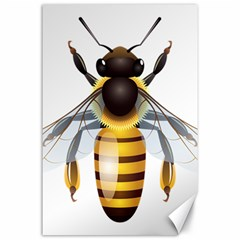 Bee Canvas 24  X 36  by BangZart