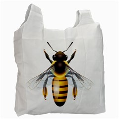Bee Recycle Bag (one Side) by BangZart