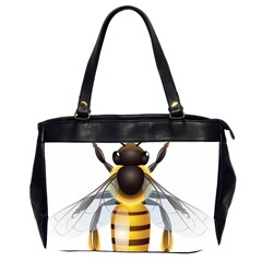 Bee Office Handbags (2 Sides)  by BangZart