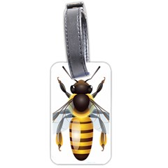 Bee Luggage Tags (two Sides)