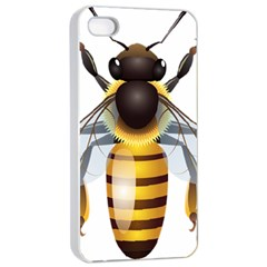 Bee Apple Iphone 4/4s Seamless Case (white) by BangZart