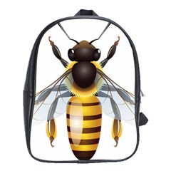 Bee School Bags (xl)  by BangZart
