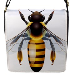 Bee Flap Messenger Bag (s)