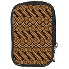 Batik The Traditional Fabric Compact Camera Cases by BangZart
