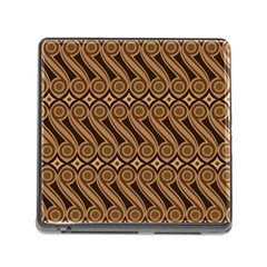 Batik The Traditional Fabric Memory Card Reader (square)