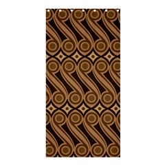 Batik The Traditional Fabric Shower Curtain 36  X 72  (stall)  by BangZart