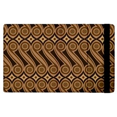 Batik The Traditional Fabric Apple Ipad 3/4 Flip Case by BangZart