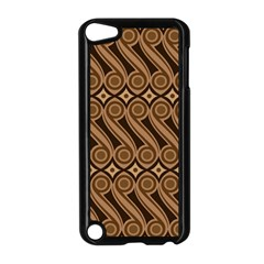 Batik The Traditional Fabric Apple Ipod Touch 5 Case (black) by BangZart