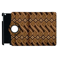 Batik The Traditional Fabric Apple Ipad 2 Flip 360 Case by BangZart