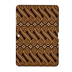 Batik The Traditional Fabric Samsung Galaxy Tab 2 (10 1 ) P5100 Hardshell Case  by BangZart