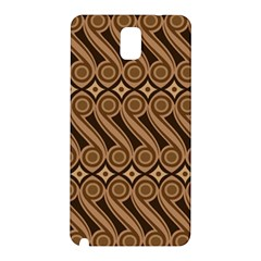 Batik The Traditional Fabric Samsung Galaxy Note 3 N9005 Hardshell Back Case