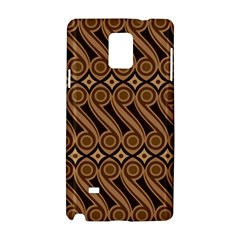 Batik The Traditional Fabric Samsung Galaxy Note 4 Hardshell Case