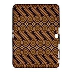 Batik The Traditional Fabric Samsung Galaxy Tab 4 (10 1 ) Hardshell Case  by BangZart