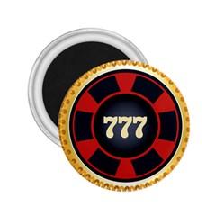 Casino Chip Clip Art 2 25  Magnets