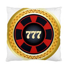 Casino Chip Clip Art Standard Cushion Case (two Sides)
