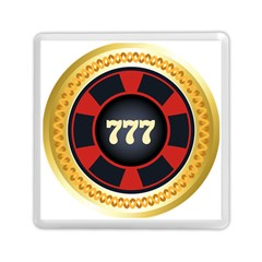 Casino Chip Clip Art Memory Card Reader (square)  by BangZart