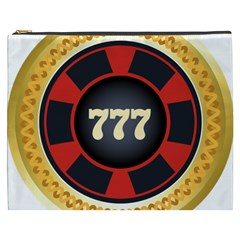 Casino Chip Clip Art Cosmetic Bag (xxxl)