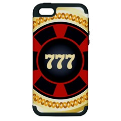Casino Chip Clip Art Apple Iphone 5 Hardshell Case (pc+silicone) by BangZart