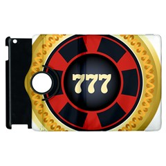 Casino Chip Clip Art Apple Ipad 2 Flip 360 Case by BangZart