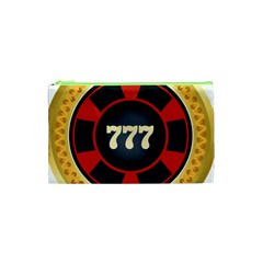 Casino Chip Clip Art Cosmetic Bag (xs)