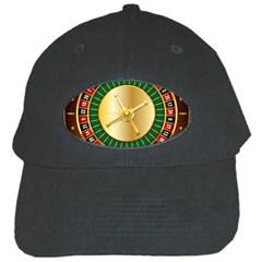 Casino Roulette Clipart Black Cap by BangZart