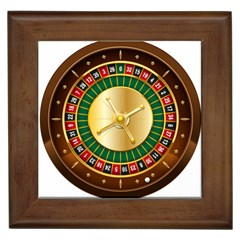 Casino Roulette Clipart Framed Tiles by BangZart