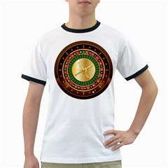 Casino Roulette Clipart Ringer T Shirts by BangZart
