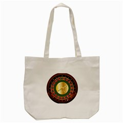 Casino Roulette Clipart Tote Bag (cream) by BangZart