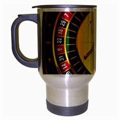 Casino Roulette Clipart Travel Mug (silver Gray) by BangZart