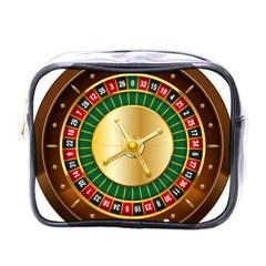 Casino Roulette Clipart Mini Toiletries Bags