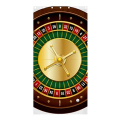 Casino Roulette Clipart Shower Curtain 36  X 72  (stall)