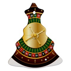 Casino Roulette Clipart Ornament (christmas Tree)