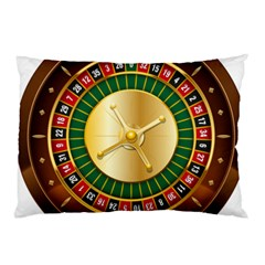 Casino Roulette Clipart Pillow Case (two Sides) by BangZart