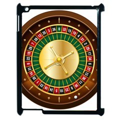 Casino Roulette Clipart Apple Ipad 2 Case (black) by BangZart