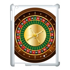 Casino Roulette Clipart Apple Ipad 3/4 Case (white) by BangZart