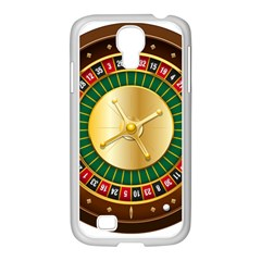 Casino Roulette Clipart Samsung Galaxy S4 I9500/ I9505 Case (white) by BangZart