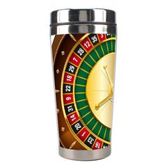Casino Roulette Clipart Stainless Steel Travel Tumblers by BangZart