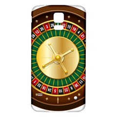 Casino Roulette Clipart Samsung Galaxy S5 Back Case (white)