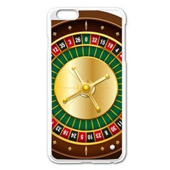 Casino Roulette Clipart Apple Iphone 6 Plus/6s Plus Enamel White Case by BangZart