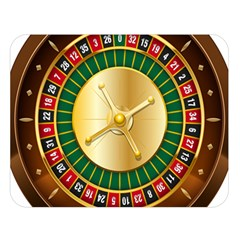 Casino Roulette Clipart Double Sided Flano Blanket (large)