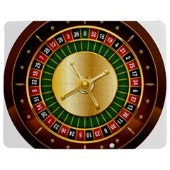 Casino Roulette Clipart Jigsaw Puzzle Photo Stand (rectangular) by BangZart