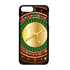 Casino Roulette Clipart Apple Iphone 7 Plus Seamless Case (black)