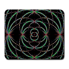 Abstract Spider Web Large Mousepads by BangZart